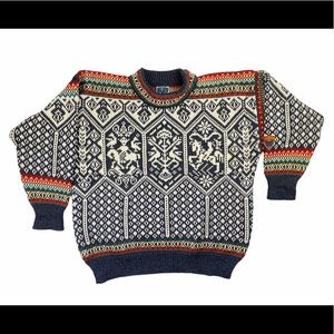 Dale Of Norway Lillehammer Wool Nordic Sweater